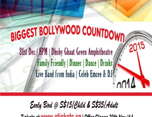 Bollywood Countdown 2015 in Singapore