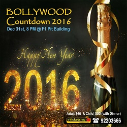 bollywood theme countdown party