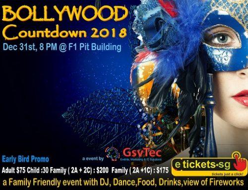 Bollywood Countdown 2018