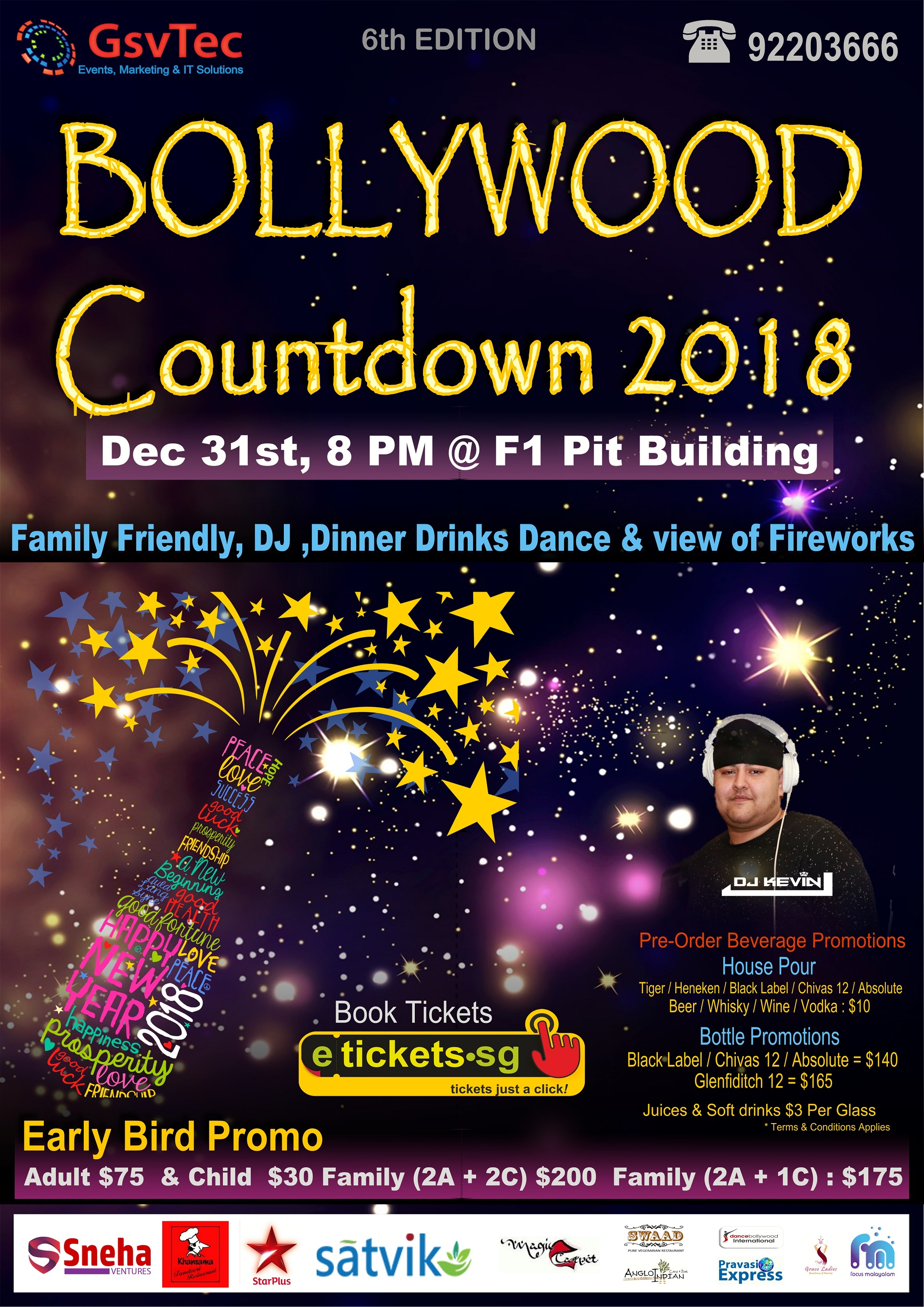 bollywood new year eve party